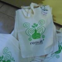 sacolas ecologicas em algodao cru ou tnt