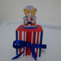 caixinha ursinho marinheiro - 3,00 R$ a unidade