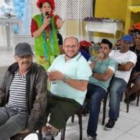 Animação com os adultos (cadeira cooperativa)