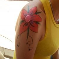 Pintura Artística (Flor)
