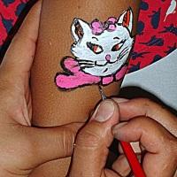 pintura facial ( tatu)