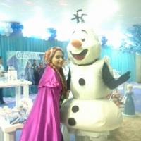 Ana e Olaf - Frozen