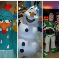 Galinha Pintadinha, Olaf e Buzz e Woody