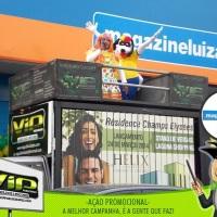 Ação de Propaganda em Mini Trio para Magazine Luiza