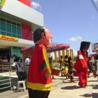 Inaguração Loja Ricardo Eletro na Estrada do Coco