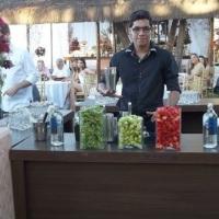 Serviço de bartender para buffet