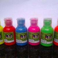 tintas fluorecentes 30ml 6 cores