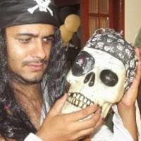 personagem Piratas do Caribe