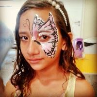 borboleta em eventos voluntários