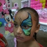 pintura facial em Caucaia