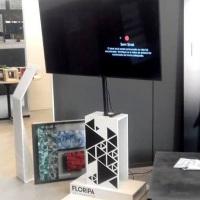 TOTEM SUPORTE REGULÁVEL PARA TV ATÉ 55 POLEGADAS