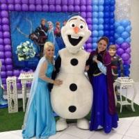 Elsa, Ana e Olaf - FROZEN