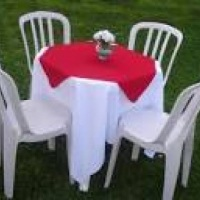 mesas e cadeiras jogo R$ 10.