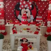 Decoração Minnie Vermelha