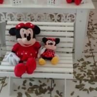 Decoração Minnie Vermelha (Pelúcias da Minnie)