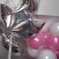 balões com gás hélio