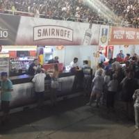Bar de drinks no Sambódromo - Durante o Carnaval colocamos bares como esse espalhados por todas as f
