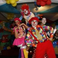 Show de circo Completo so faltou o Mágico que sumiu na hora da foto!!