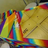 Oficina de Pipa - é criativa e muito colorida além da criança criar a sua própria pipa e ganhar de p