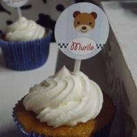 Topper cup cake , personalizamos com o tema de seu evento