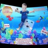 Convite Pop-up Nemo