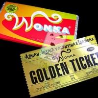 Convite Willy Wonka