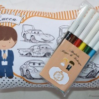 Almofada para colorir Risque e Rabisque