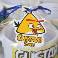 Caneca de plástico Angy Birds