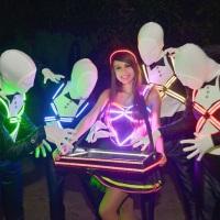 Animadores de Pista + Baleira LED