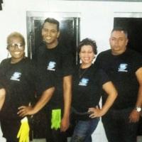 Assim é a nossa equipe de limpeza e conservação: Solícita e sempre com sorriso no rosto.