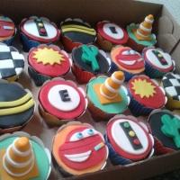 Cupcakes - Carros (Disney).