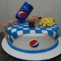 Bolo - Pepsi.