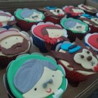 Cupcakes - Chapeuzinho Vermelho.