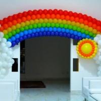 Arco Iris de Balão