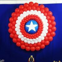 Escudo do Capitão América de Balões