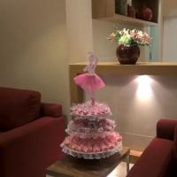 Novo Conceito:  Espaço reservado para os convidados se deliciarem com os docinhos antes dos Parabé