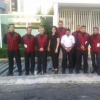 Equipe Valet Security Parking em Buffet de Aniversário