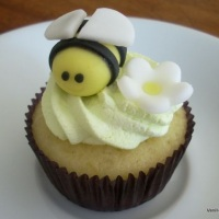 Cupcake abelha