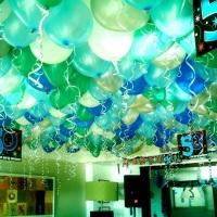 COND. LAGOA - balões no teto