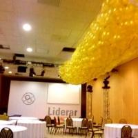 Chuva de balões - Windsor Hotel Barra