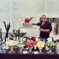 Vidal Bartender na inauguração do salão Werner Coiffeur de Laranjeiras - RJ.