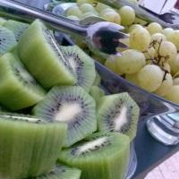 Frutas frescas e selecionadas...