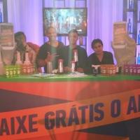 A Vidal Bartender esteve presente no Prêmio MultShow de Música de 2014, onde montamos um open bar co