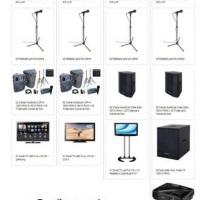 Combinações de equipamentos para melhor adequar o serviço à necessidade do cliente.