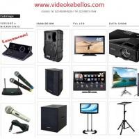 Catálogo de equipamentos disponibilizados aos clientes.