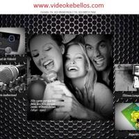 Página inicial do site da VIDEOKÊ BELLO'S
