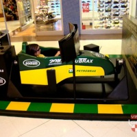 Simulador Motion 4D Petrobras - Virtual Grand Prix