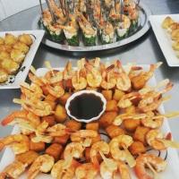 Deliciosos camarões Nordestinos, um dos pratos mais solicitados em nosso cardápio.