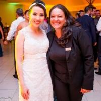 Casamento Tatiana e Jonas - Clube Paula Ramos