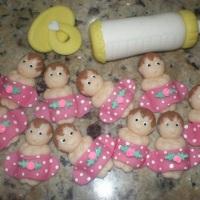 lembrancinhas maternidade - 60 unidades embalagens e cartão - 80,00